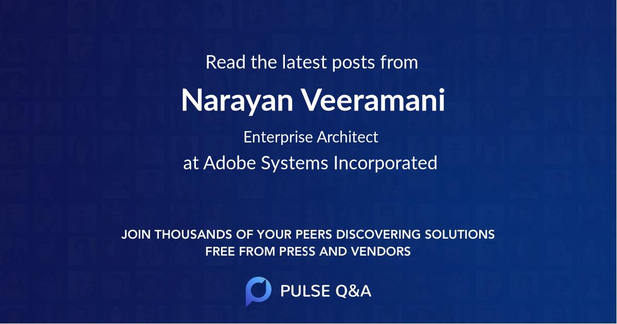 Narayan Veeramani