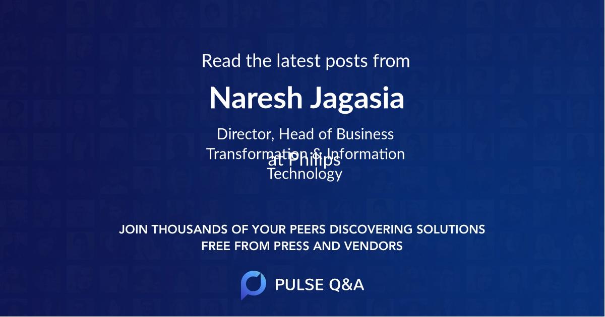 Naresh Jagasia