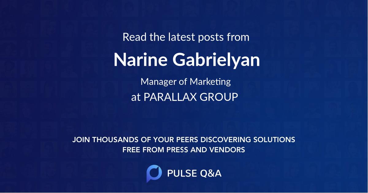 Narine Gabrielyan