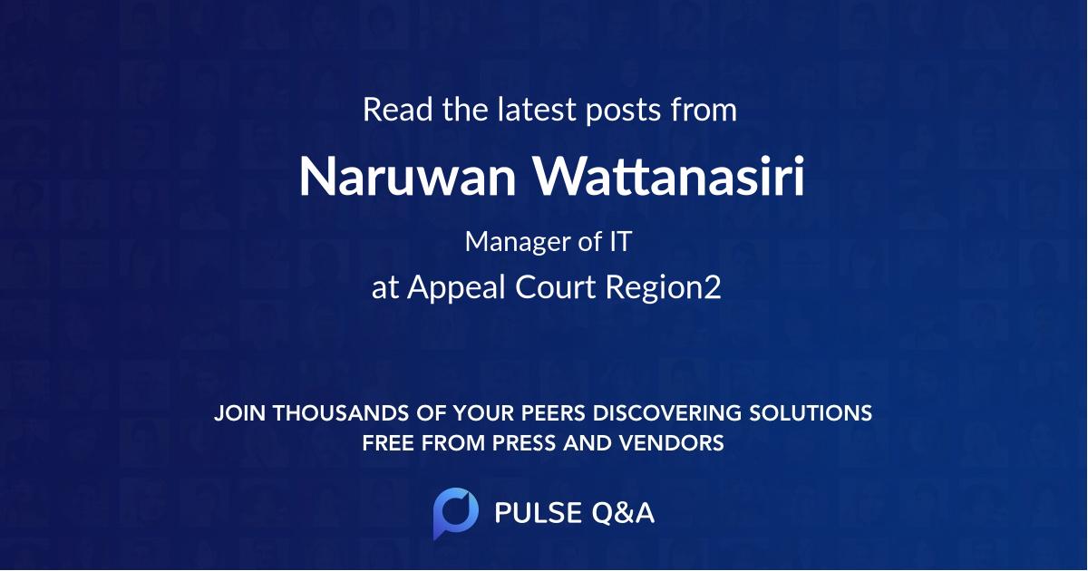 Naruwan Wattanasiri