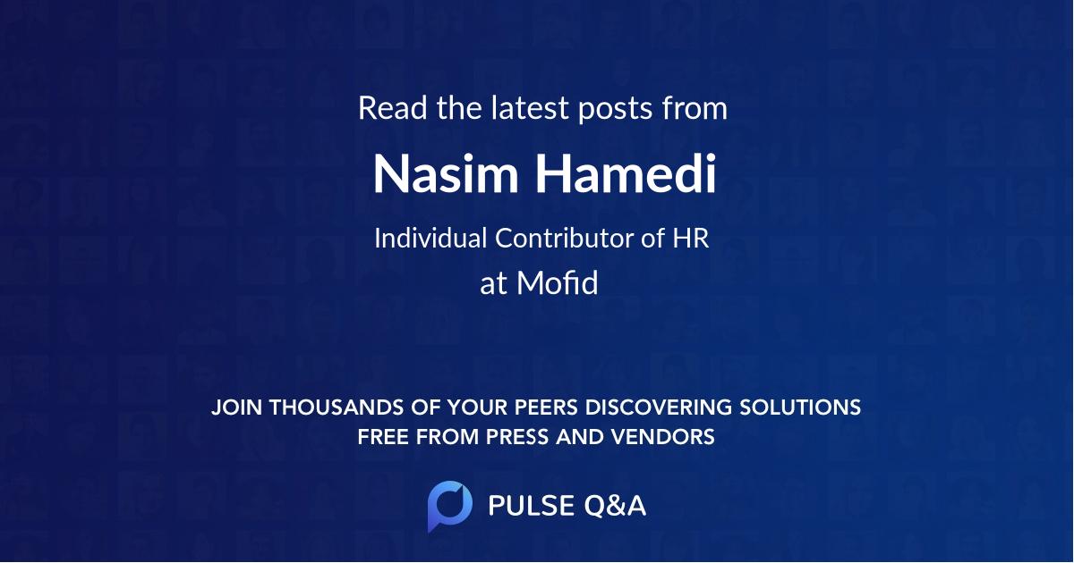 Nasim Hamedi