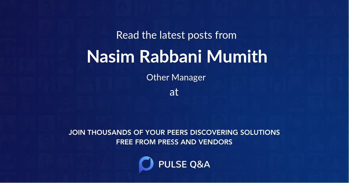 Nasim Rabbani Mumith