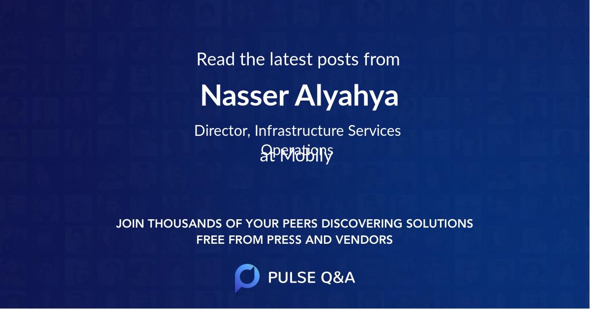 Nasser Alyahya
