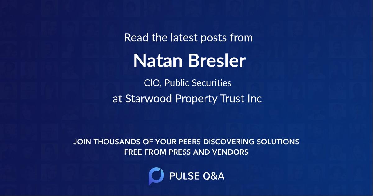 Natan Bresler