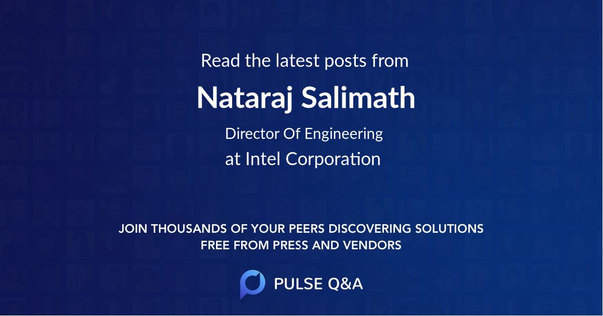 Nataraj Salimath