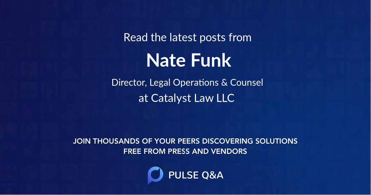 Nate Funk