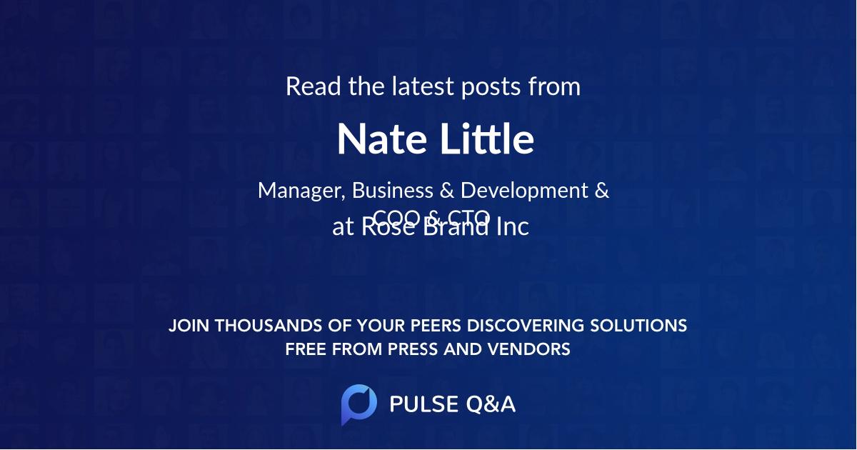 Nate Little