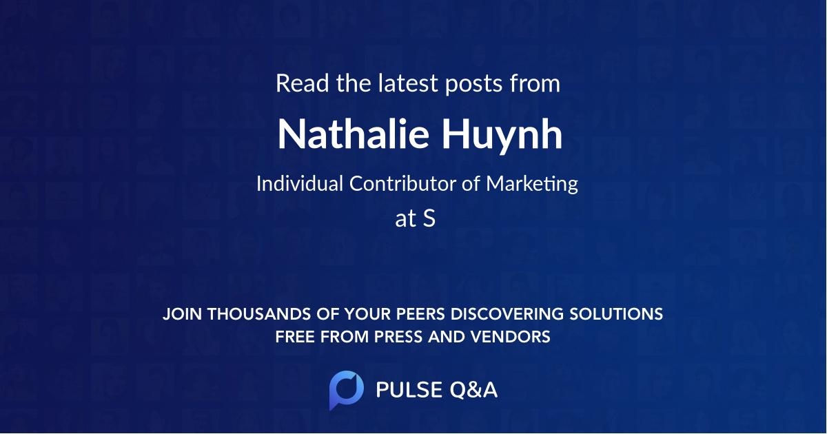 Nathalie Huynh