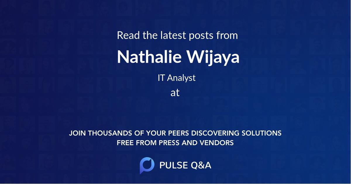 Nathalie Wijaya