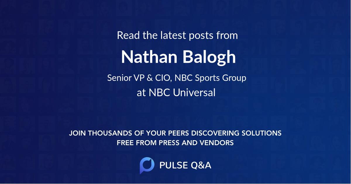 Nathan Balogh