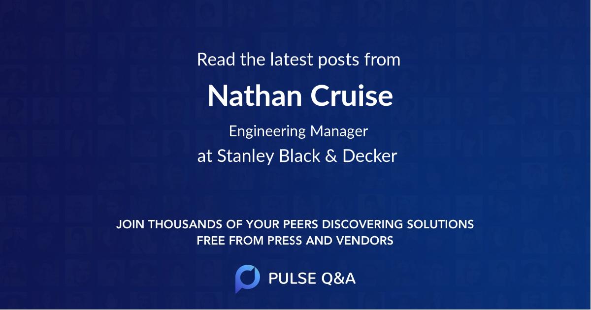 Nathan Cruise