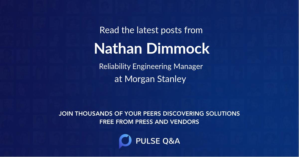 Nathan Dimmock