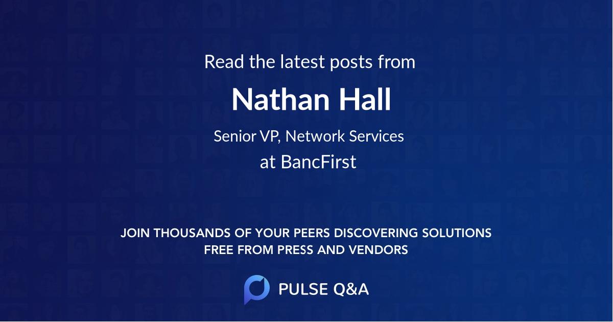 Nathan Hall