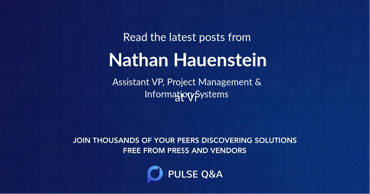 Nathan Hauenstein