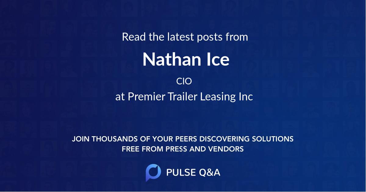 Nathan Ice