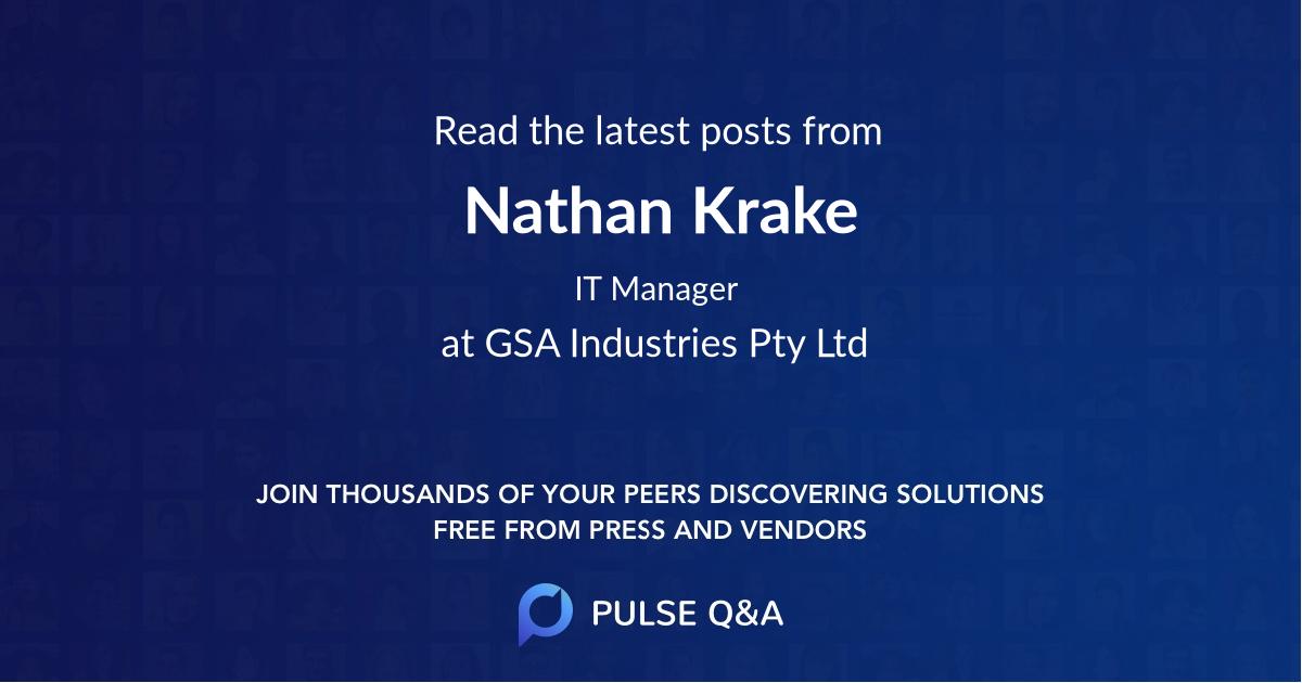 Nathan Krake