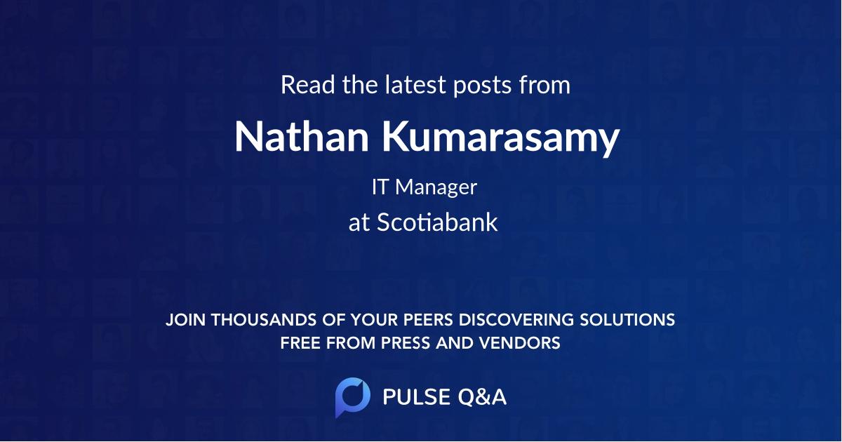 Nathan Kumarasamy