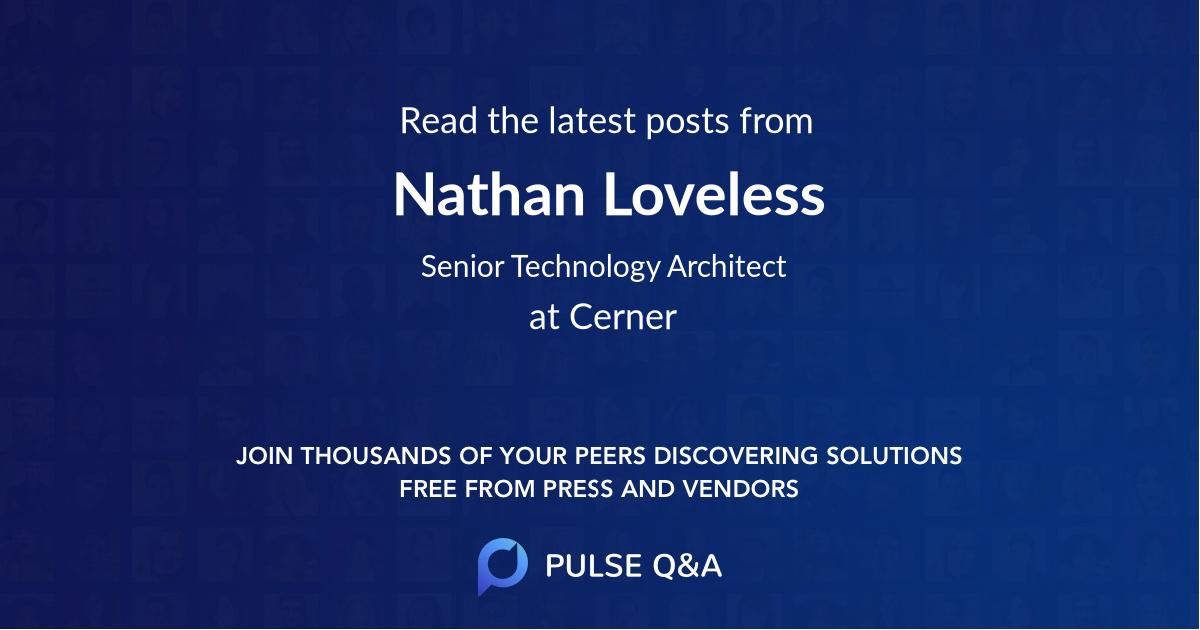 Nathan Loveless