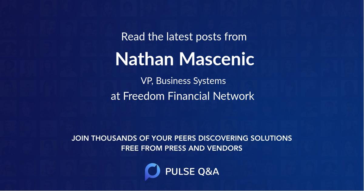 Nathan Mascenic