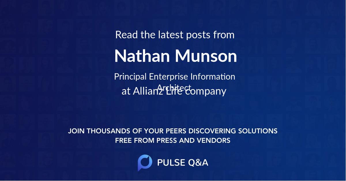 Nathan Munson