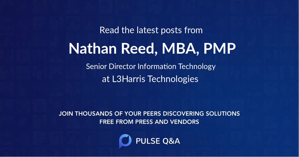 Nathan Reed, MBA, PMP