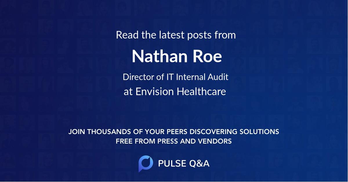 Nathan Roe
