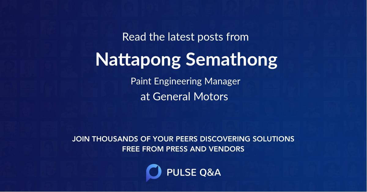Nattapong Semathong