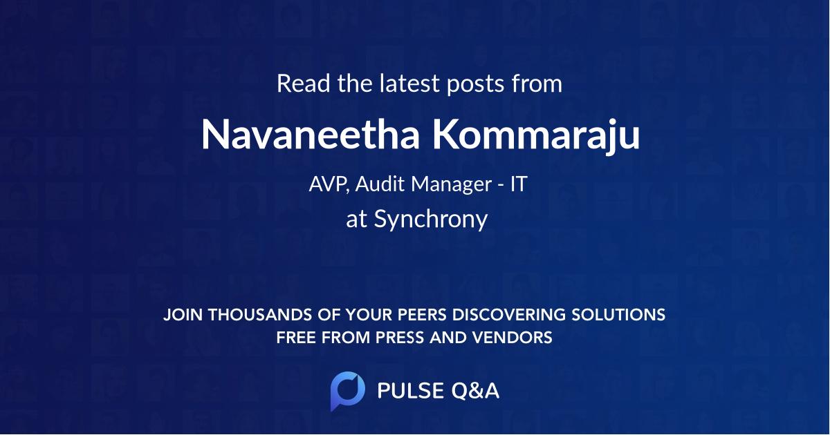 Navaneetha Kommaraju