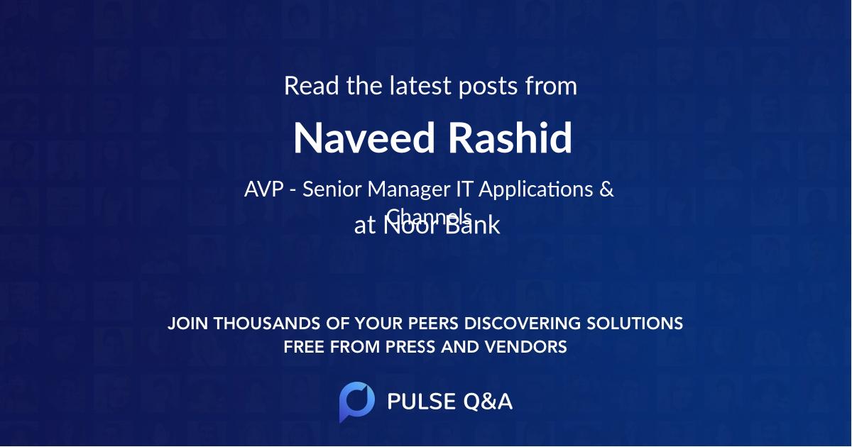 Naveed Rashid
