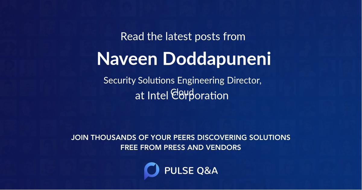 Naveen Doddapuneni