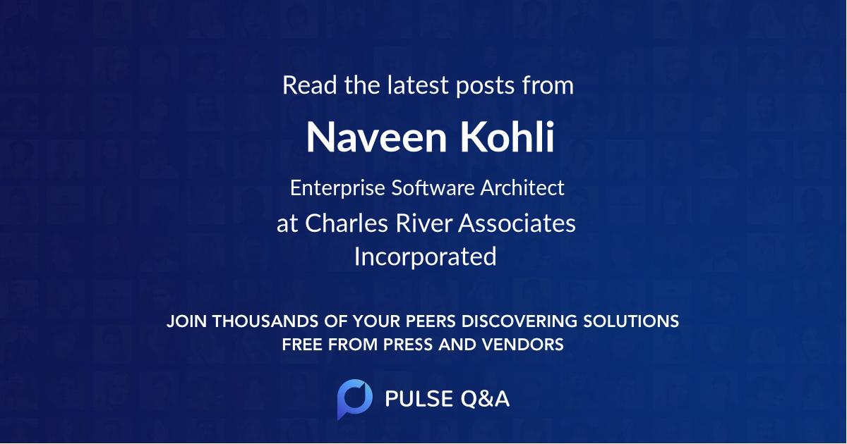Naveen Kohli