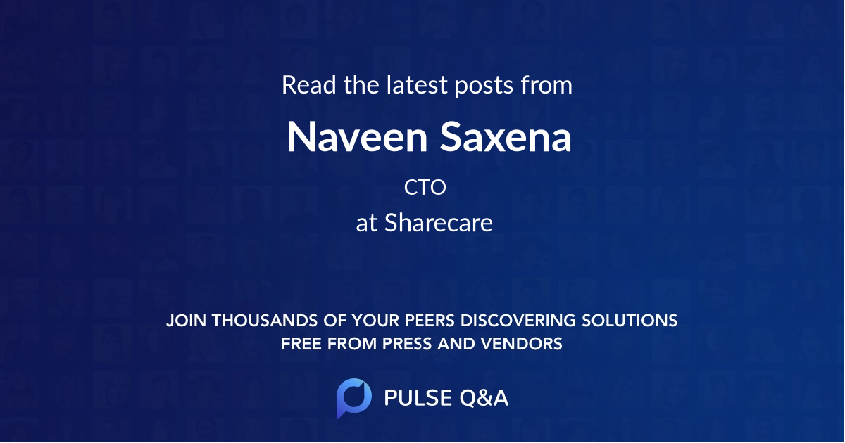 Naveen Saxena