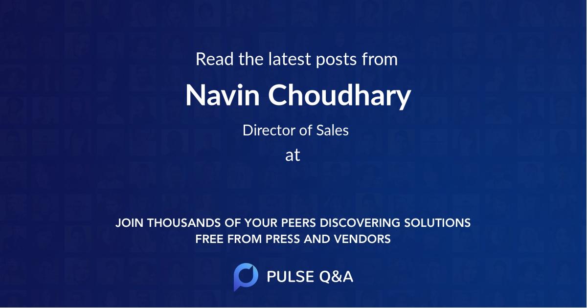Navin Choudhary