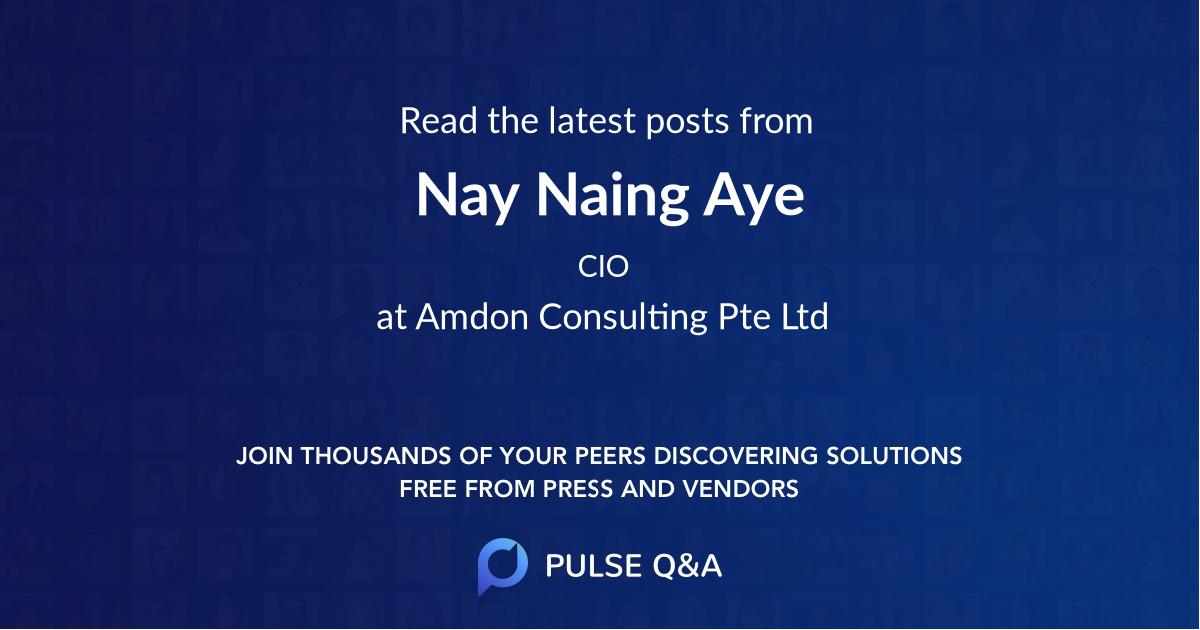 Nay Naing Aye