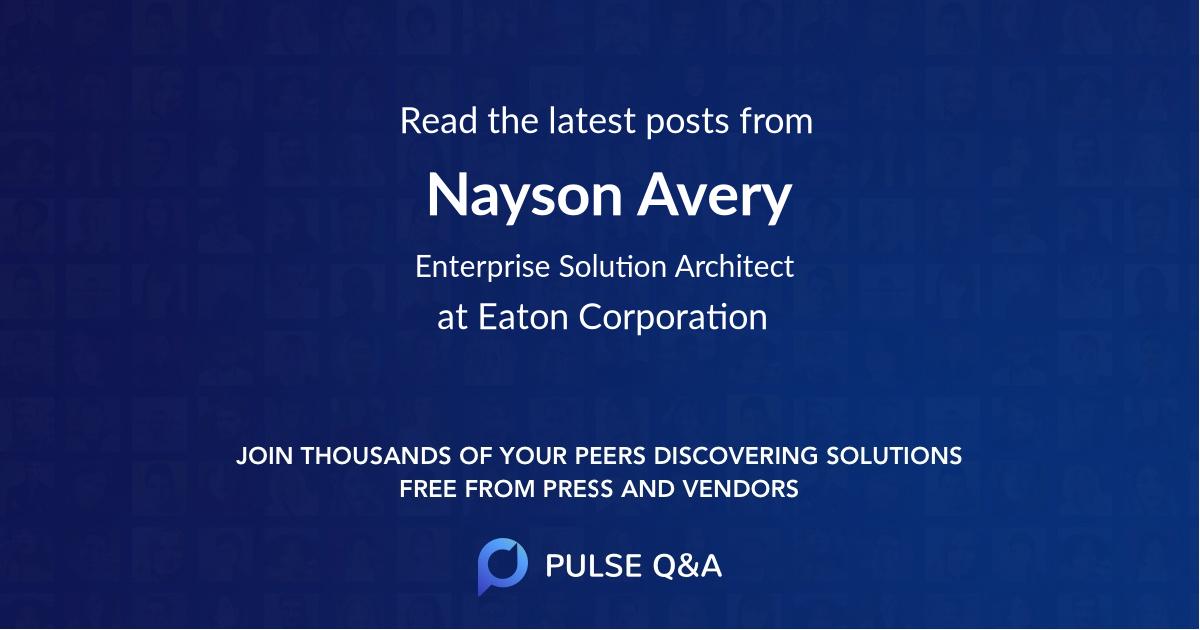 Nayson Avery