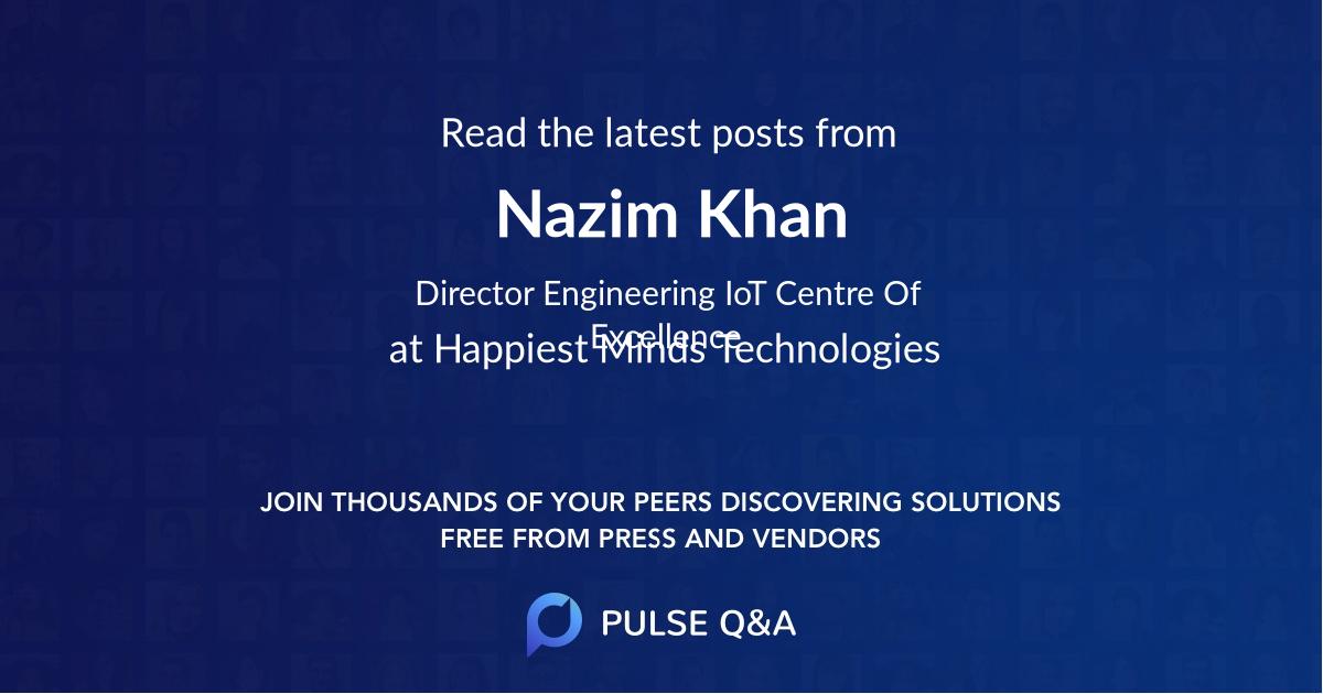 Nazim Khan