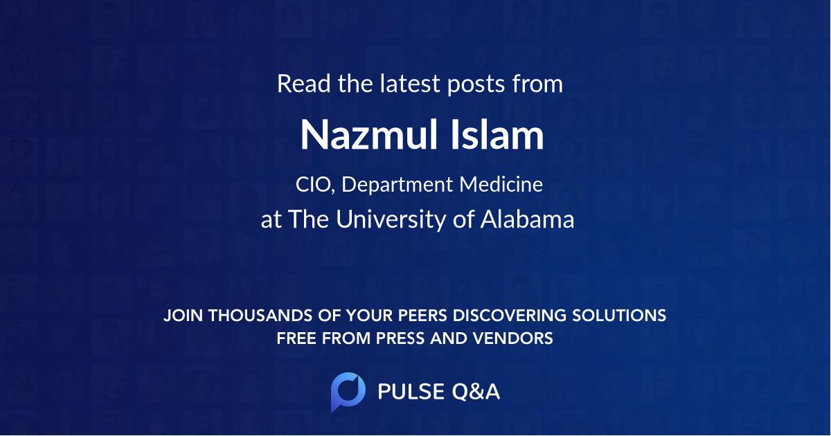 Nazmul Islam