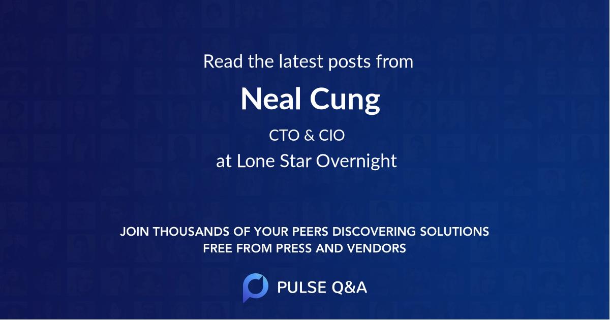 Neal Cung