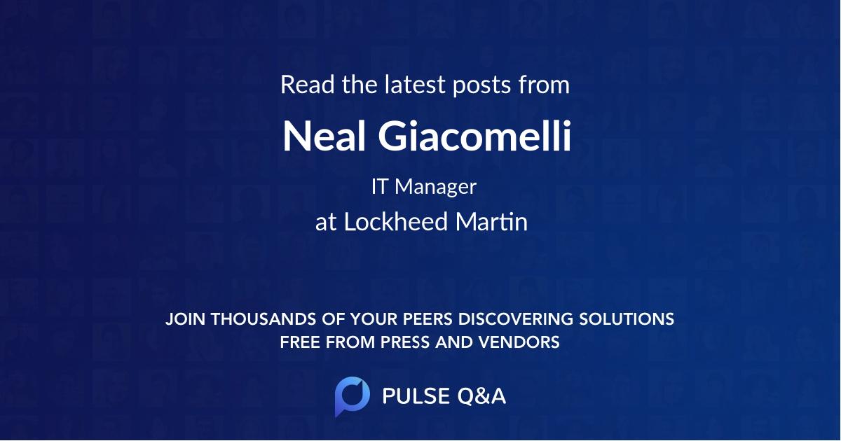 Neal Giacomelli