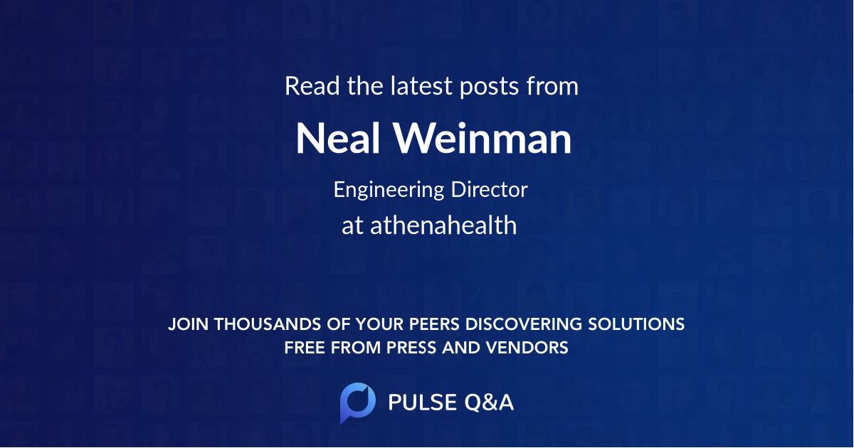 Neal Weinman