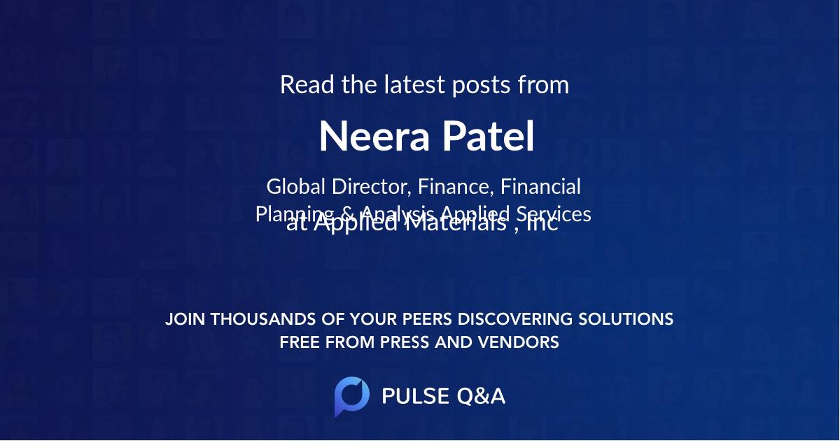 Neera Patel