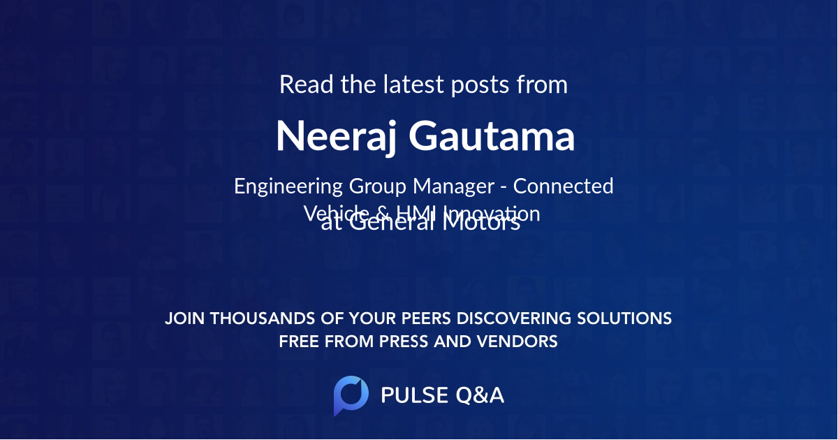 Neeraj Gautama
