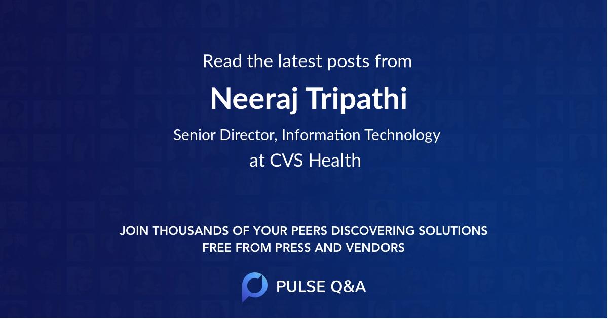 Neeraj Tripathi