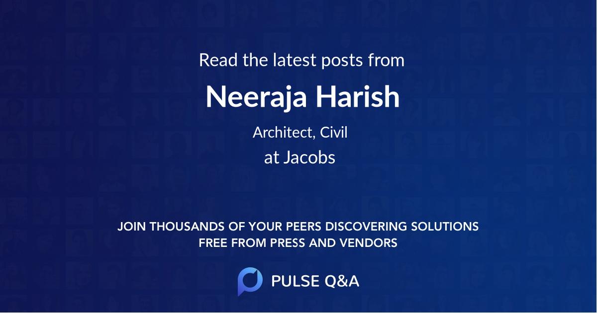 Neeraja Harish