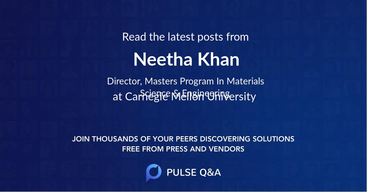 Neetha Khan
