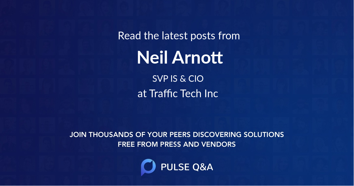 Neil Arnott