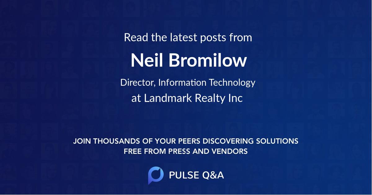 Neil Bromilow