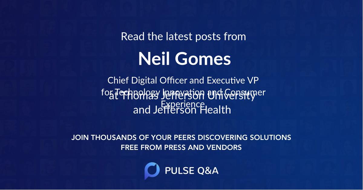 Neil Gomes