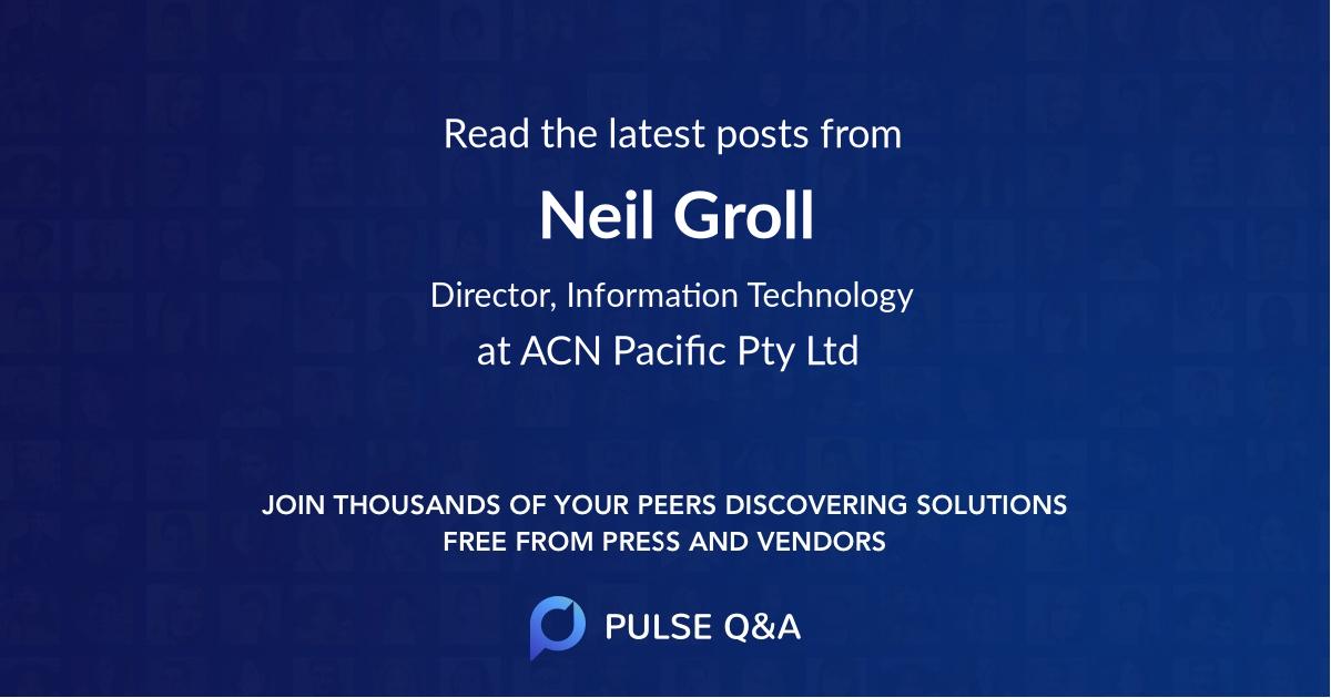 Neil Groll
