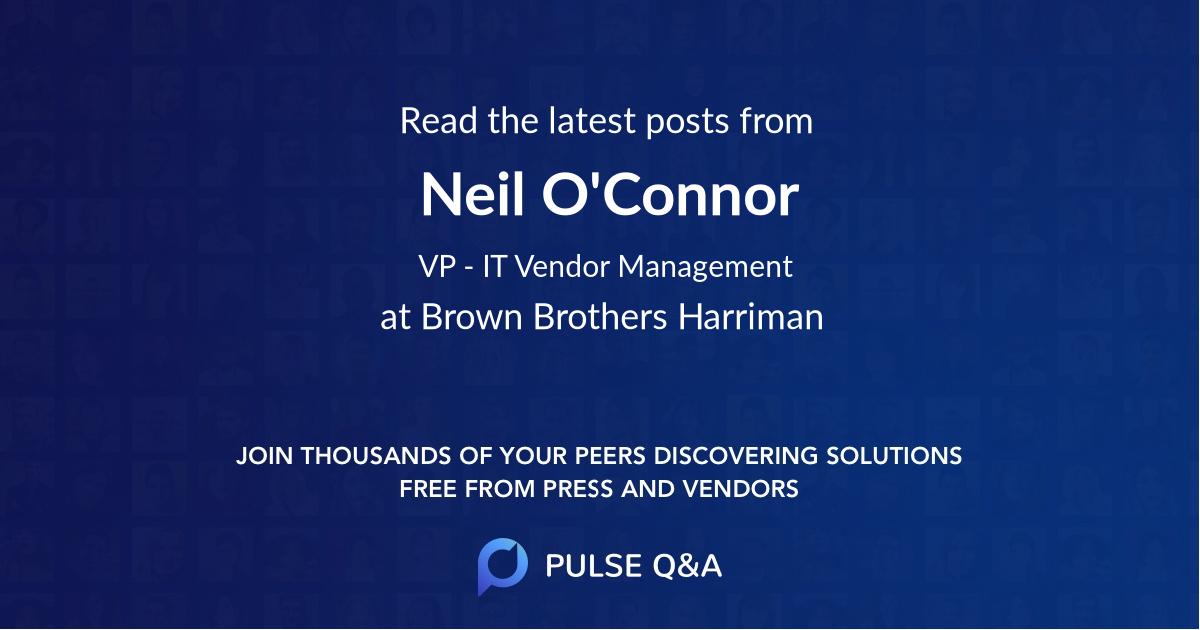 Neil O'Connor
